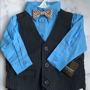 Holiday Editions 4 Piece Suit - 18 Months